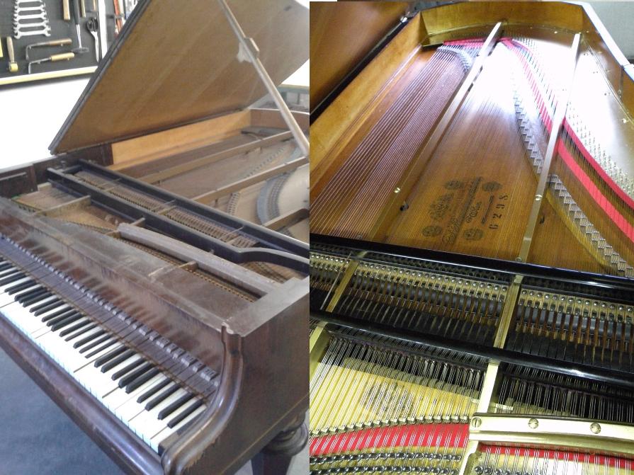 Restauro pianoforte